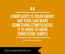 Complexity x Simplicity